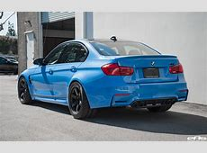 Yas Marina Blue BMW M3 With M Performance Goodies & Volk