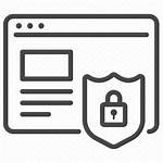 Website Icon Web Secure Security Protection Development