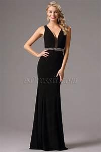 robe noire soiree longue la mode des robes de france With robe de soirée noire longue