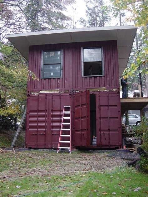 shipping container house dwell boxes shipping container homes january 2013 Hightree