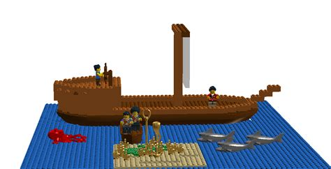 Lego Boat Pirate by Lego Ideas Lego Pirate Boat