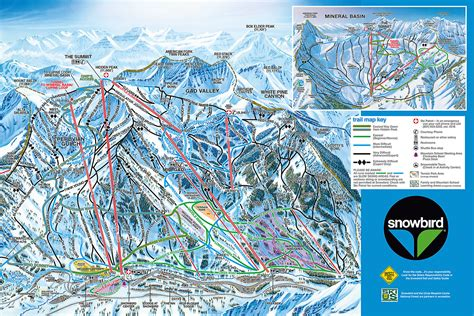 Snowbird Trail Map