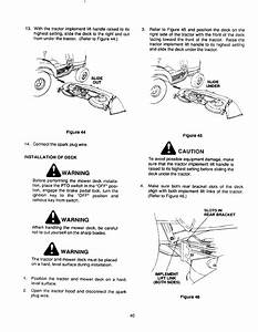 Page 40 Of Cub Cadet Lawn Mower 2135 User Guide