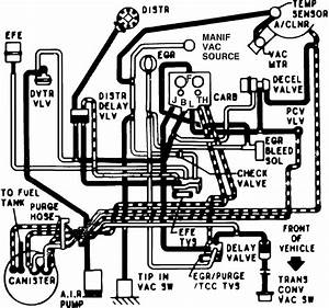 I Had Requested A Vacuum Diagram For A 1983 Chevrolet Van That Came With 305 V8 Engine  With The