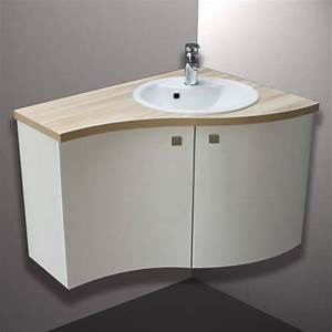 meuble de salle de bain d angle obasinccom With meuble de coin salle de bain