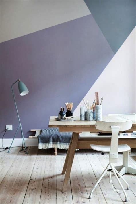 peindre une chambre en deux couleurs nos astuces en photos pour peindre une pièce en deux couleurs