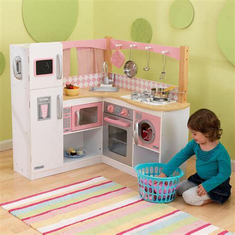 cuisine fille en bois grande cuisine d 39 angle pour enfant