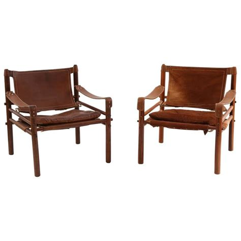 pair of arne norell sirocco safari chairs for sale at 1stdibs