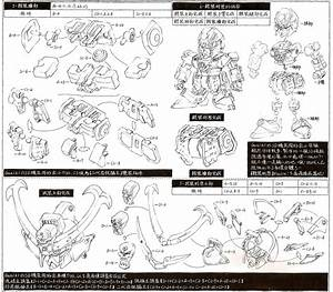 U30d6 U30fc U30b6 U30ec   Guniki Musha Crossbone Gundam  Instruction Manual