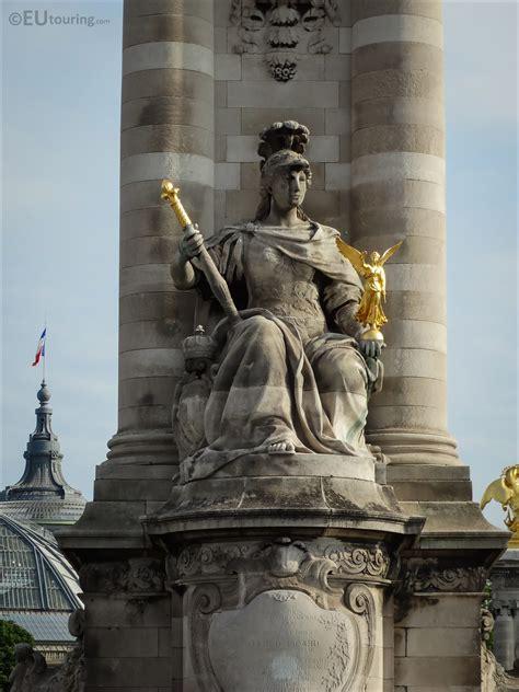 La France de Louis XIV statue on the Pont Alexandre III ...