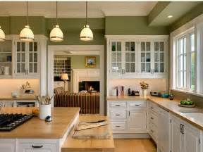 Green Kitchen Paint Color White Cabinet Modern Kitchen Paint Colors With Oak Cabinets