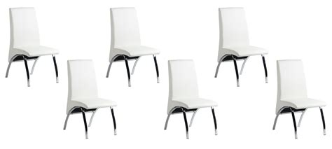 lot 6 chaises blanches lot 6 chaises blanches maison design wiblia com