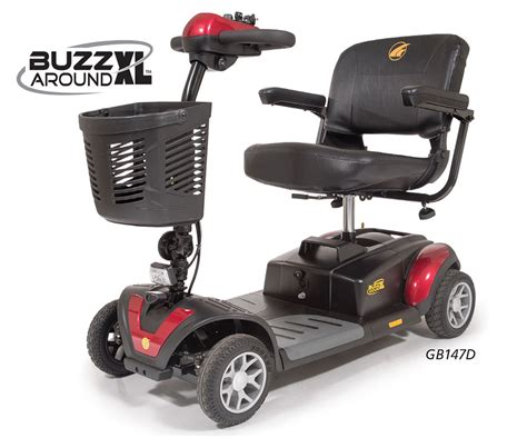 Buzzaround Xl 4-wheel Scooter From Golden