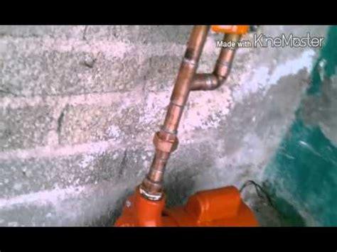 como se deve de instalar una bomba de agua en una youtube