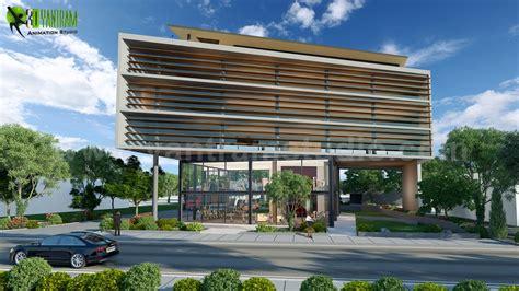 Architecture Design Ideas by Yantram Architectural Design Studio Commercial Building