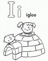 Coloring Igloo Clipart Library Activity Clip sketch template