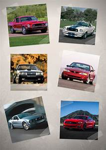 Ford Mustang Through the Years - The Original Pony Car