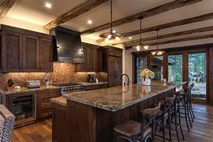 Lot 326, Martis Camp - Rustic - Kitchen - Sacramento - by
