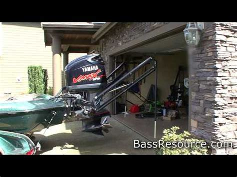 Bass Boat Garage by How To Park Your Boat In The Garage With Power Poles On