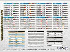 Calendario Partidos Russia 2018 Celetours