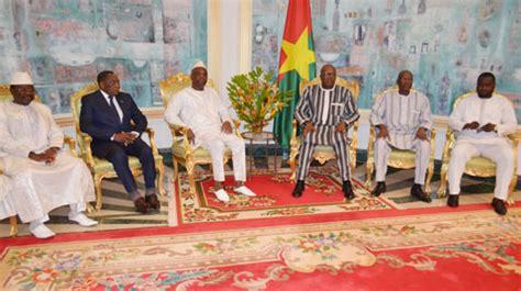 chambre consulaire le président du faso a reçu le nouveau bureau de la