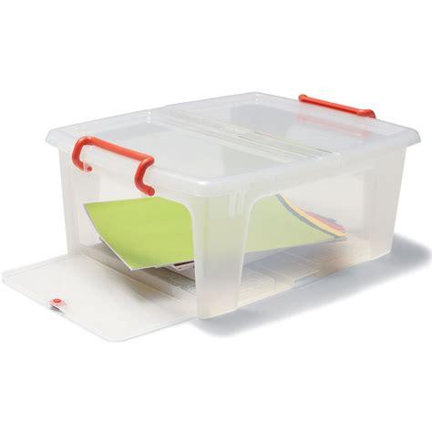 Aufbewahrungsbox Kunststoff Mit Deckel by Aufbewahrungsbox Kunststoff Mit Deckel G 252 Nstig Kaufen