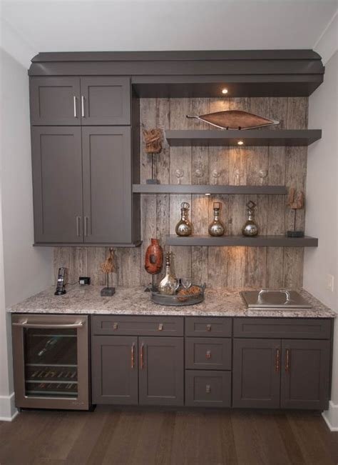 basement kitchenette  thrifty decor chick