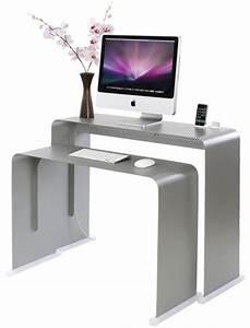 Bureau Informatique Design : bureau informatique design bureau pas cher blanc lepolyglotte ~ Teatrodelosmanantiales.com Idées de Décoration