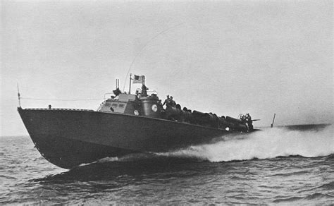 Higgins Pt Boat Specifications by Hyperwar At Quarters Part Ii