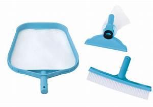 Kit Entretien Piscine Gonflable : kit d 39 accessoires de base intex pour entretien de piscine ~ Dailycaller-alerts.com Idées de Décoration