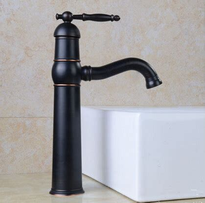Brass Antique Black Bronze Bathroom Mixer Sink Tap