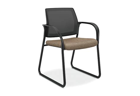 ignition sled base guest chair hisb6 hon office furniture