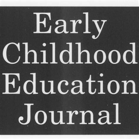 early childhood education journal    texts