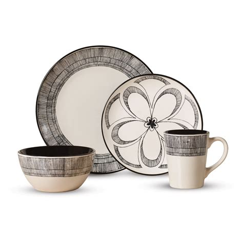 dinnerware everyday pfaltzgraff piece sets casual gramercy mossy oak wayfair hayneedle dining mugs quick
