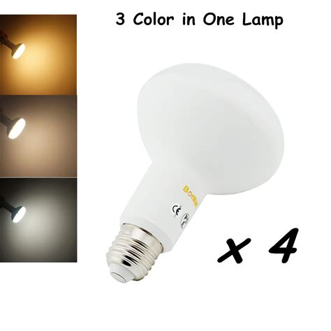 br30 led light bulb e26 e27 medium base color temperature