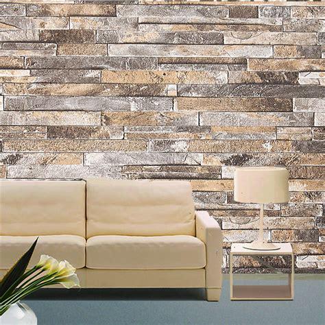 wall paper brick stone pattern vinyl wallpaper roll
