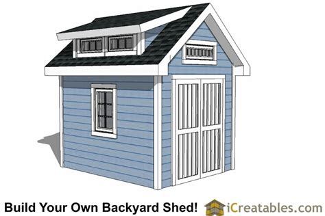 shed plans 8 x 10 8x10 shed plans diy storage shed plans building a shed