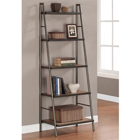 metal ladder shelf bookshelf outstanding ladder shelves ikea leaning ladder