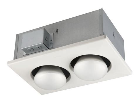 broan 163 type ic infrared two bulb ceiling heater 250