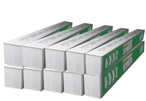 8ft fluorescent l jumbo recycling box 10 pack holds