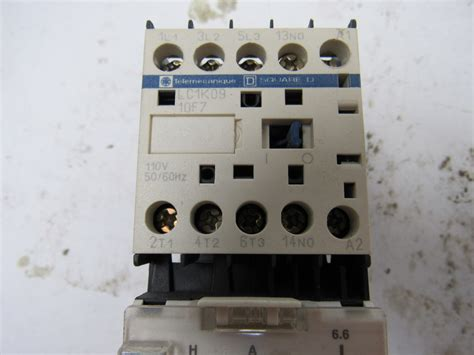 square d telemecanique lc1k09 3 pole 9 miniature contactor bullseye industrial sales