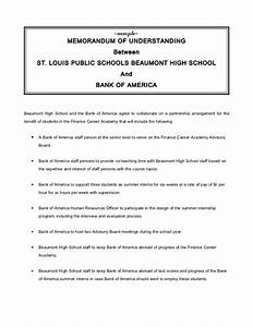 memorandum of understanding With how to write a memorandum of understanding template