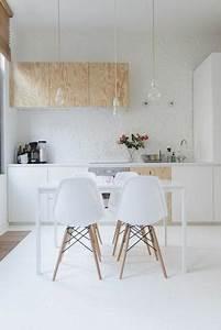 parquet ou sol peint en blanc With parquet peint blanc