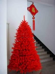 chinese red common christmas tree china commen xmas tree red xmas tree