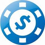 Web Icon Chip Icons Gamble Custom