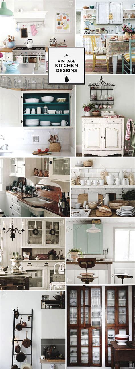 retro kitchen decor ideas vintage kitchen design accessories and decor ideas home tree atlas