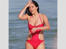 Model Brittny Gastineau Suffers Embarrassing Nip Slip at