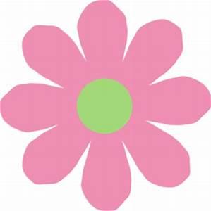 Pink & Green Daisy Clip Art at Clker.com - vector clip art ...