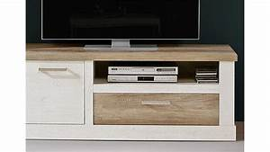 Tv Board Weiß Eiche : tv unterschrank duro tv board pinie wei und eiche antik ~ Buech-reservation.com Haus und Dekorationen