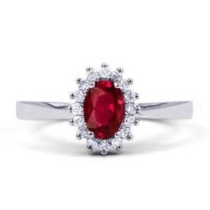 two tone engagement rings white and gold neu 18k white gold rubin diamant halo verlobungsring 0 16 ct 2mm ebay